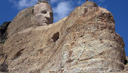 The Memorial to Crazy Horse Has Been Under Construction For Almost 70 Years