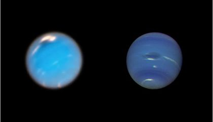 There's a Dark and Stormy Vortex Brewing on Neptune