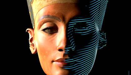 3-D Scans of the Bust of Nefertiti Are Now Available Online