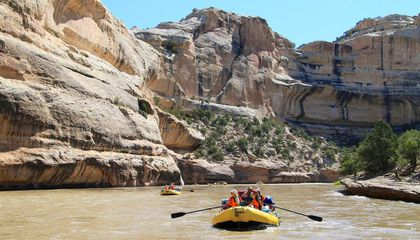 Twenty of the West's Leading Water Managers Raft Colorado's Yampa River