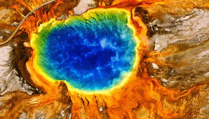 The Science Behind Yellowstone's Rainbow Hot Spring