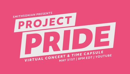 How to Watch the Smithsonian Pride Alliance's Free Virtual Concert