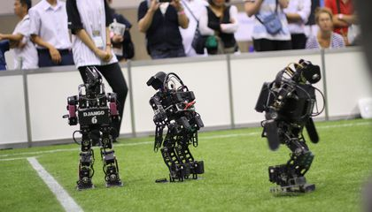 Why Funny, Falling, Soccer-Playing Robots Matter