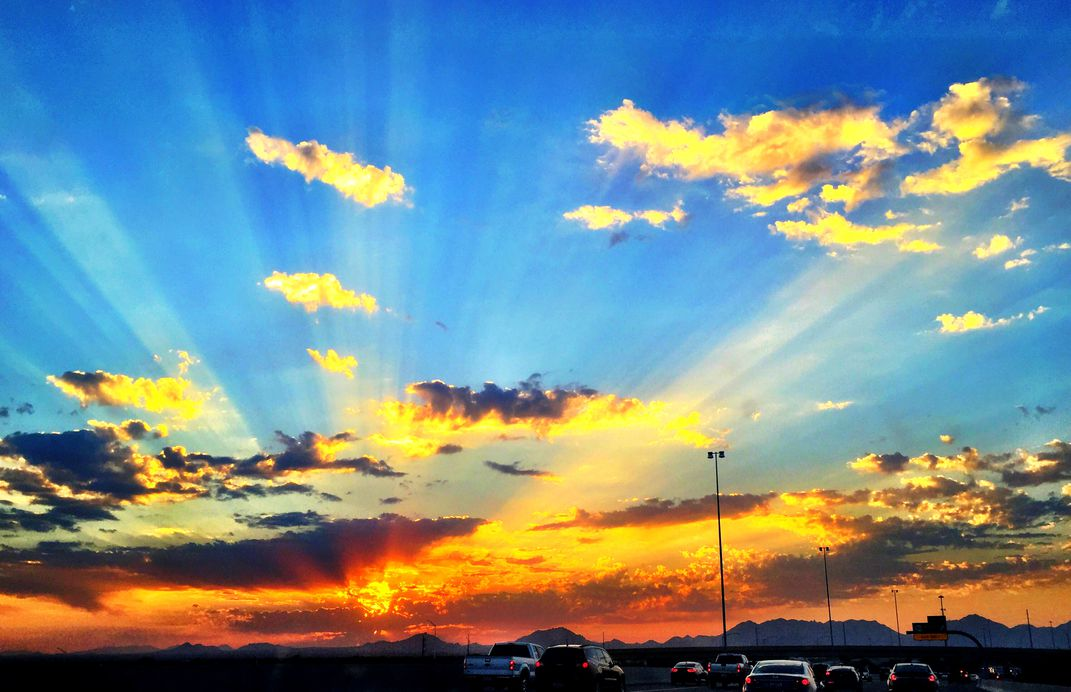 A Beautiful Sunrise To Say Good Morning Smithsonian Photo Contest