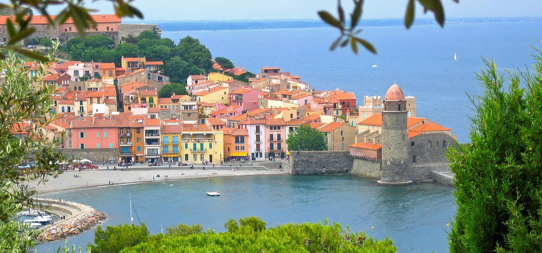 The delightful seaside village of Collioure