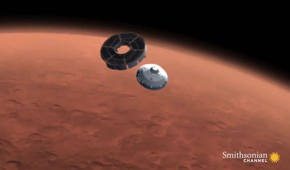 Preview thumbnail for video'Getting Curiosity on Mars