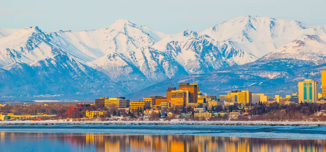 The city of Anchorage