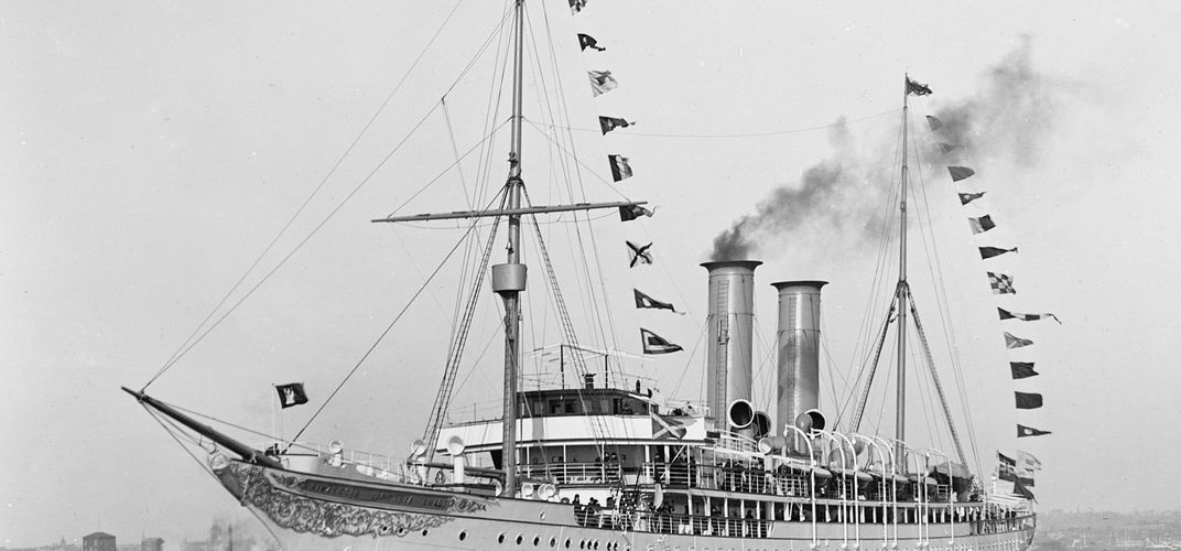 Caption: The First Cruise Ship Built for Luxurious Travel