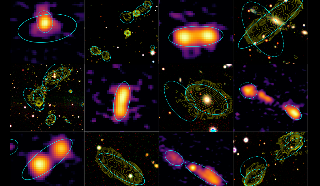 Help astronomers locate and identify supermassive black holes and star-forming galaxies on Radio Galaxy Zoo: LOFAR.
