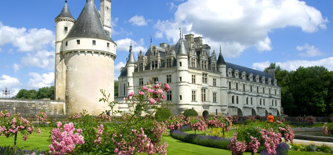 Chenonceau, one of the most romantic chateaux in the Loire Valley