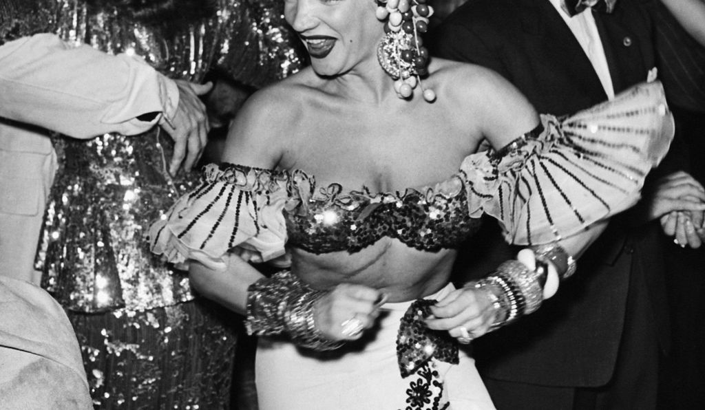 Carmen Miranda at a Photographers Ball, early 20th century