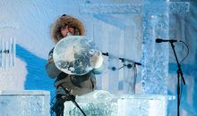 These Musical Instruments Are All Made of Ice