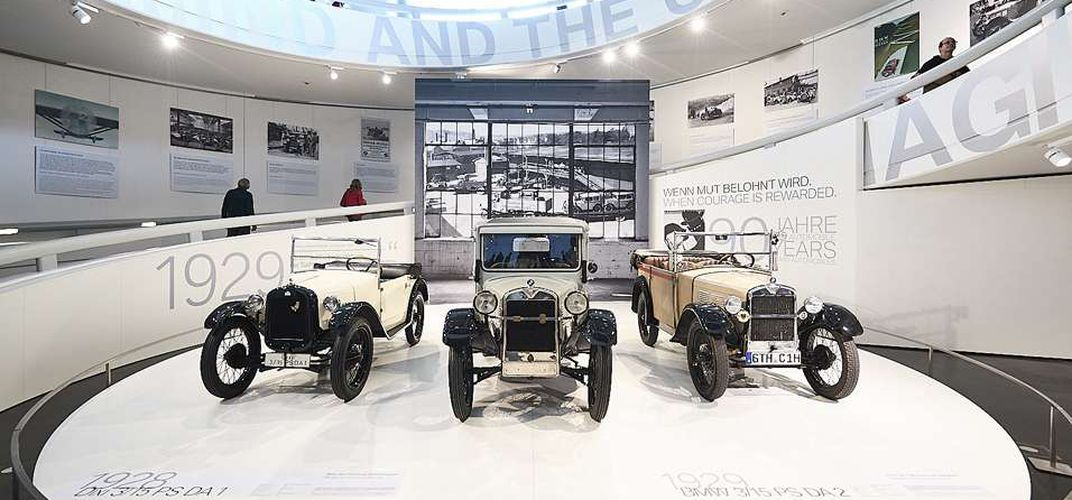 Exhibition at the BMW Museum, Themeneinstieg