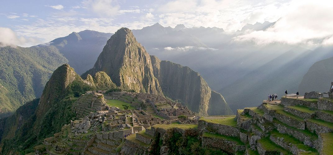 The iconic Machu Picchu