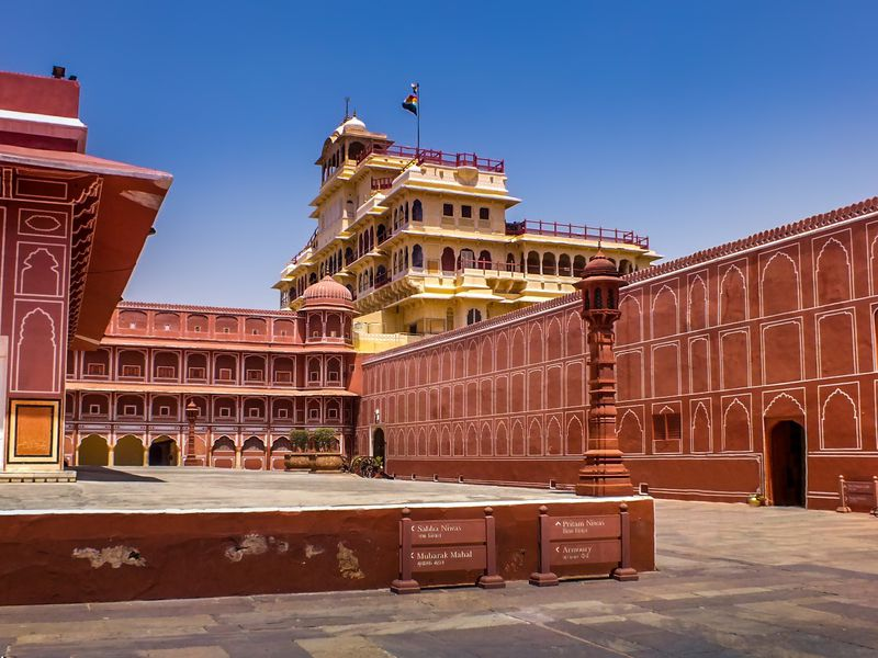 The City Palace of Jaipur was designed with vastu shastra ideals