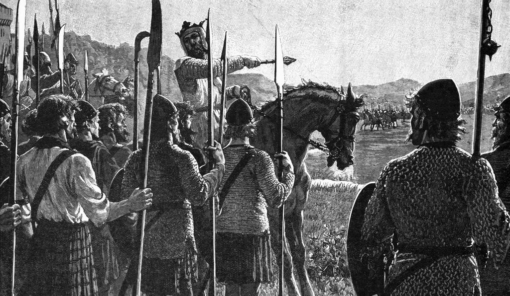 Robert the Bruce won a major victory against the English at the Battle of Bannockburn in 1314.
