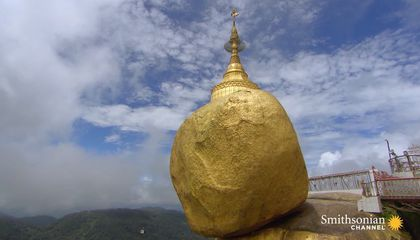 The Burmese Monument That Appears to Defy Gravity