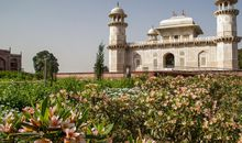 Restored Mughal Gardens Bloom Once More Along Agra's Riverfront