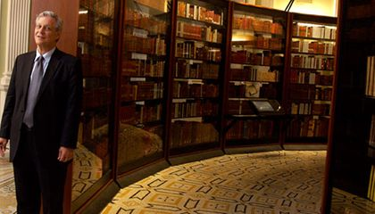 Library of Congress curator Mark Dimunation embarked on years-long mission to track down copies of books once owned by Thomas Jefferson.