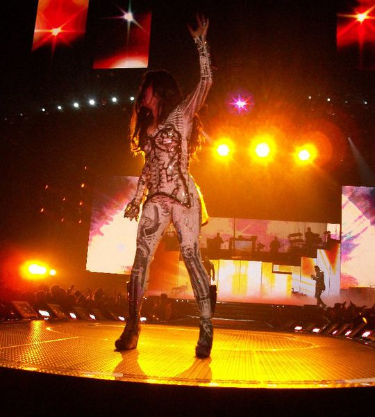 Fergie at the HSBC Arena in Buffalo, NY | Smithsonian Photo