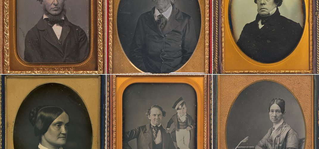 Caption: Daguerreotype Photos Reflected a Changing America