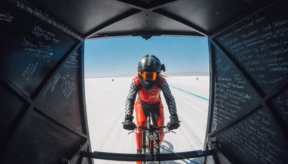 American Woman Sets New Bicycle Speed Record