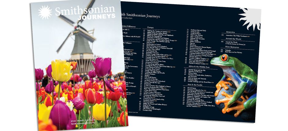 Where do you want to go? Download our new catalog to find inspiration for your next Journey!