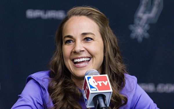 She's first female in NBA, which had been boys only