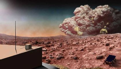 Mars Weather Forecast Calls for Massive Dust Storms -- Here's Why
