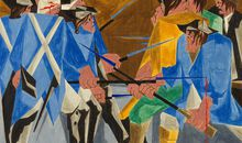 Met Visitor Rediscovers Jacob Lawrence Painting