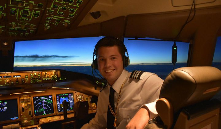 The Youngest 777 First Officer in the World