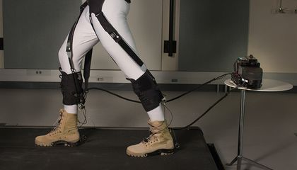 This Soft Exosuit Could Help People Walk Farther, Easier
