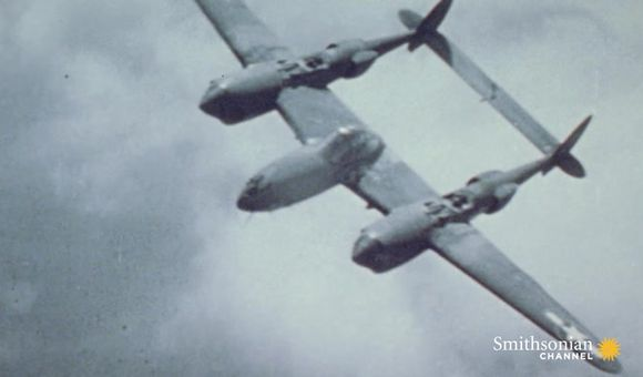Preview thumbnail for video'Germany suffered big losses at the hands of the P-38