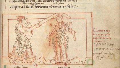 """Here's What Happens in a """"Comic Book"""" Drawn by Medieval Monks"""