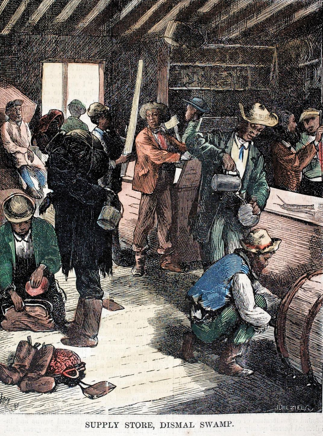 1873 Great Dismal Swamp Supply Store