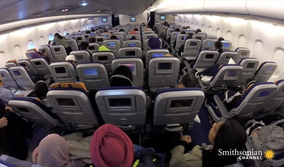 Preview thumbnail for video'Your airline seat has suffered a lot of punishment