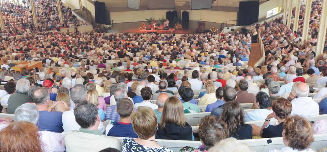Maine Stage Lecture at the Chautauqua Amphitheater