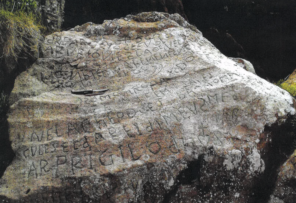 Has This Boulder's Mysterious, Centuries-Old Inscription Finally Been Deciphered?