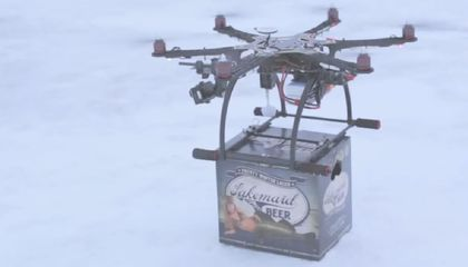 The FAA Ordered This Beer Drone Delivery Service to Cease And Desist