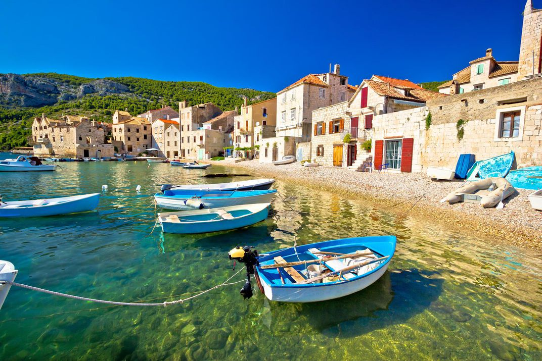 This Tiny Picturesque Island Is Standing In For Greece In Mamma Mia 2 Travel Smithsonian Magazine