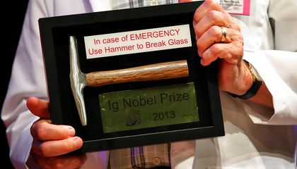 The Ig Nobel Prize Turns 25