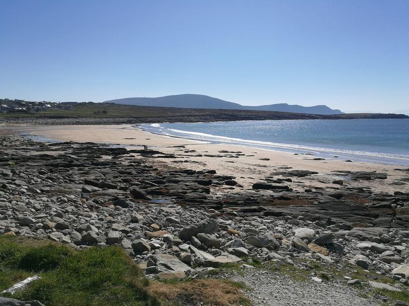 Irish Dooagh Achill Island beach miraculously returns after 33 years