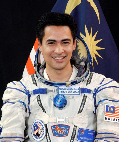 Sheikh Muszaphar Shukor heads off for a nine-day trip to the space station.