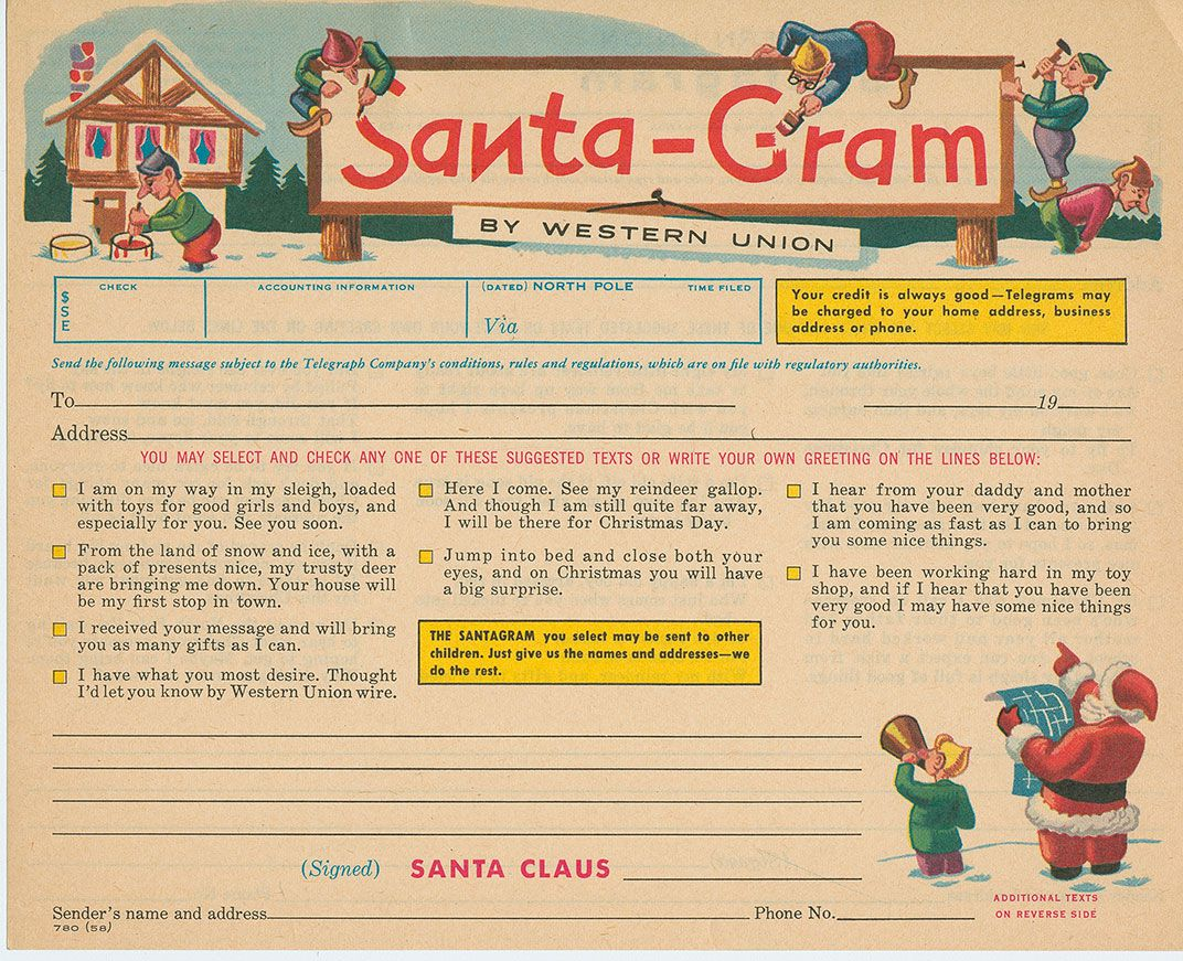 The Evolving Face Of Santa As Seen In The Smithsonians Vast