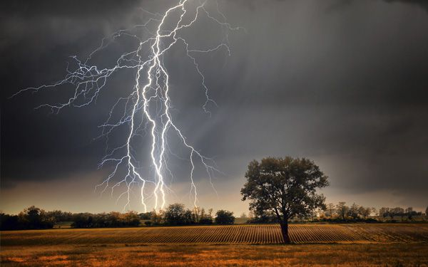 Does lightning ever strike twice?
