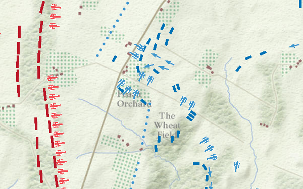 Interactive Map Of The Battle Of Gettysburg History Smithsonian - Gettysburg on us map