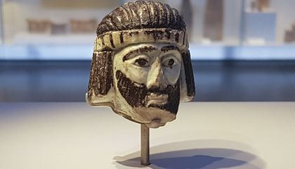 Could This Sculpted Head Depict a Little-Known Biblical King?