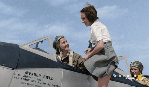 Preview thumbnail for video'Women Proved to Be Exceptional Pilots During WWII