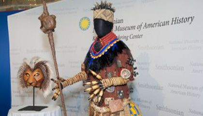 Lion King Artifacts Join Smithsonian's Circle of Life