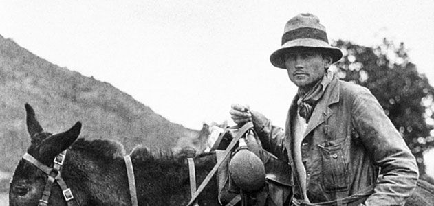 Harry Bingham in Peru